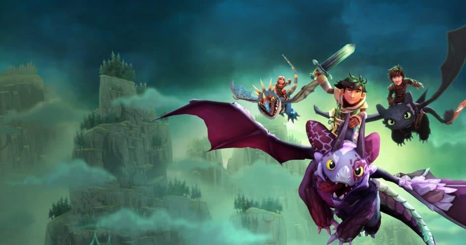Dragons Aube Nouveaux Cavaliers