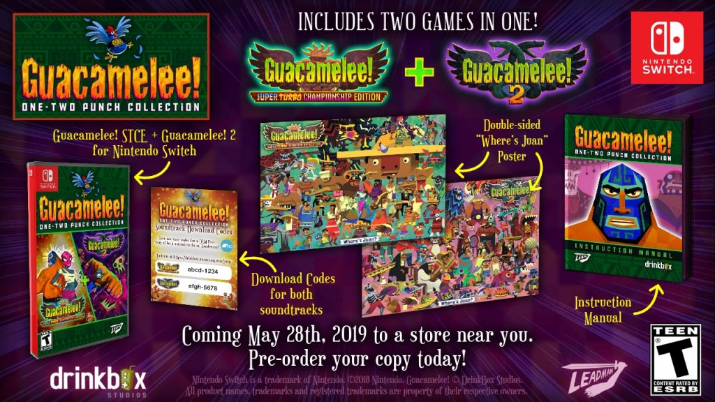 Guacamelee One Two Punch Collection Switch