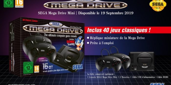 Sega Mega Drive Mini French V2