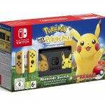 Console Nintendo Switch Pokemon Lets Go Pikachu