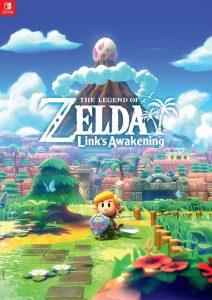 Bonus De Precommande Poster The Legend Of Zelda Link S Awakening