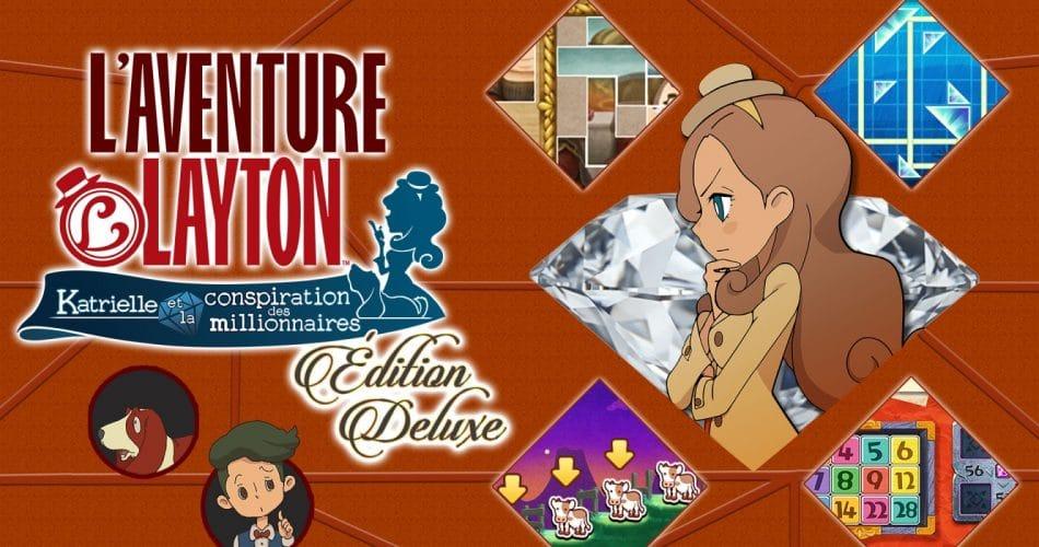 Aventure Layton Katrielle Conspiration Millionnaires