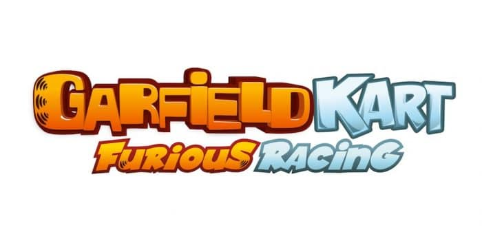 Garfield Kart Furious Racing Logo