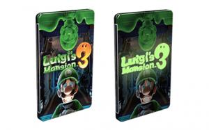 Luigi Mansion 3 Steelbook Glow In The Dark
