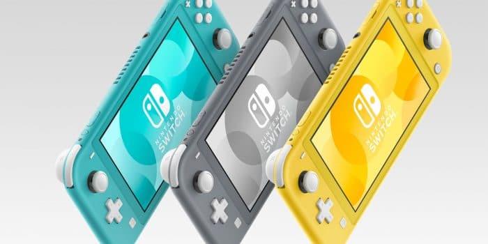 Nintendo Switch Lite Mockup