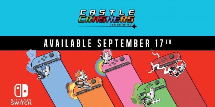 Castle Crashers Remastered Date