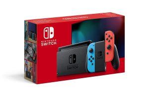 Console Nintendo Switch 2019 Joycons Neon