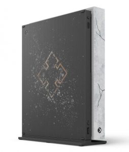 Console Xbox One X Gears 5 Back