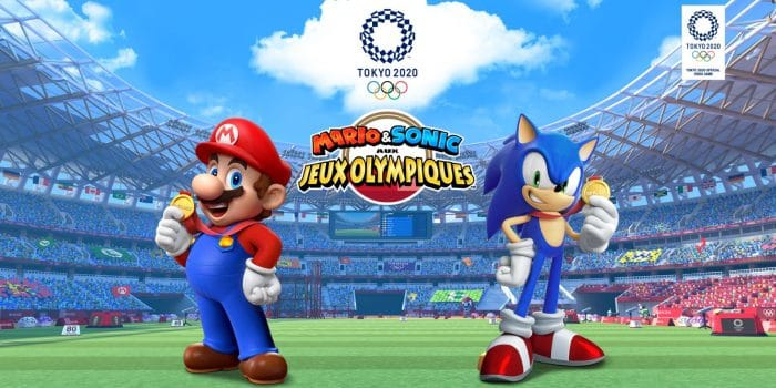 Mario Sonic Jeux Olympiques Tokyo 2020