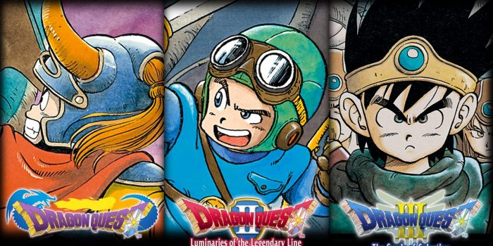 Dragon Quest Collection 1 2 3