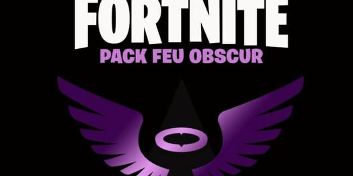 Fortnite Battle Royale Pack Feu Obscur