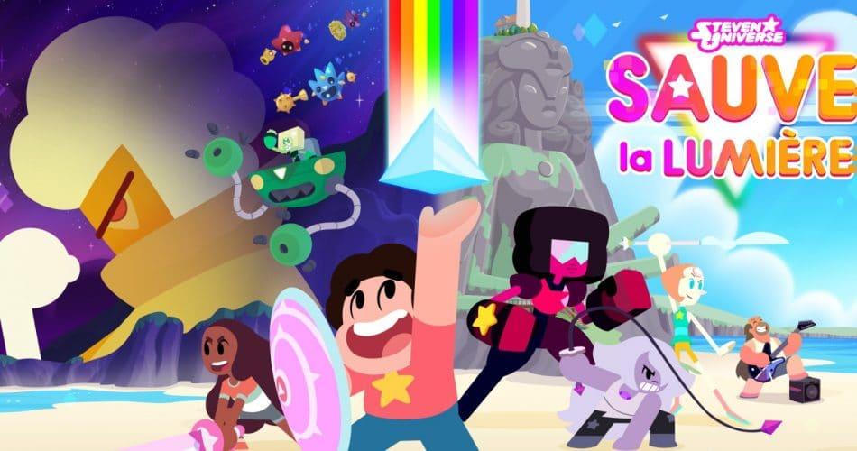 Steven Universe Sauve La Lumiere