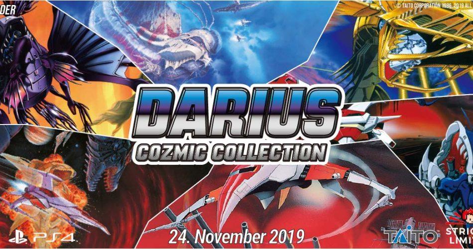 Darius Cozmic Collection Banner