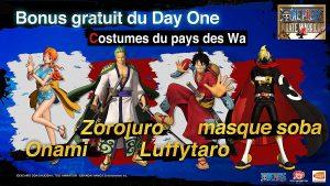 One Piece Pirate Warriors 4 Bonus Day One
