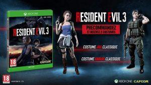 Resident Evil 3 Dlc Preco Xboxone
