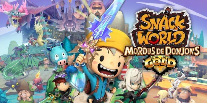 Snack World Mordus De Donjons Gold