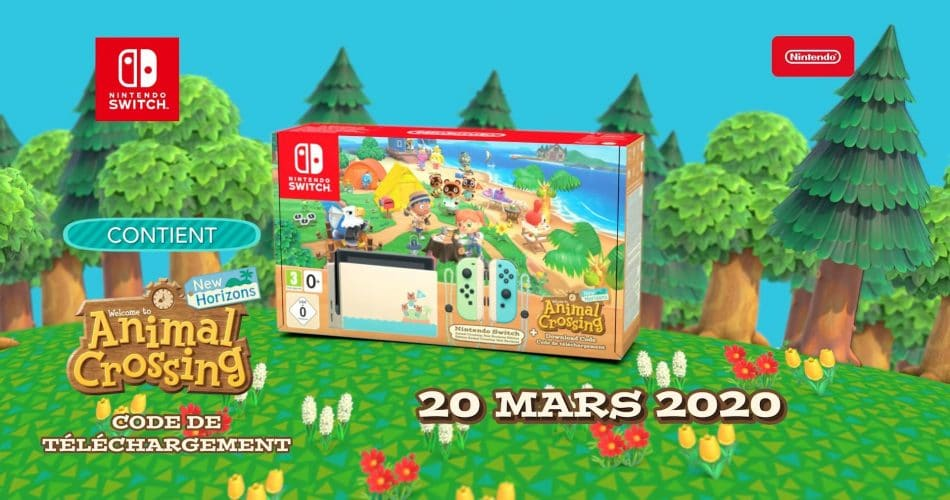 Pack Animal Crossing Switch Edition Limitee