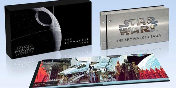 Star Wars Integrale Collector Bluray 4k