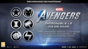Avengers Badges