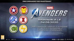 Avengers Ensemble Ecussons Legendaires