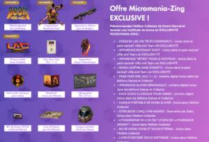 Doom Eternal Collector Micromania