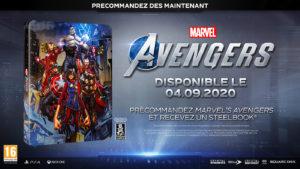 Marvels Avengers Steelbook
