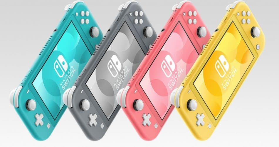 Switch Lite 4 Couleurs