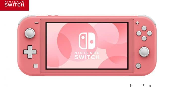 Switch Lite Coral 1