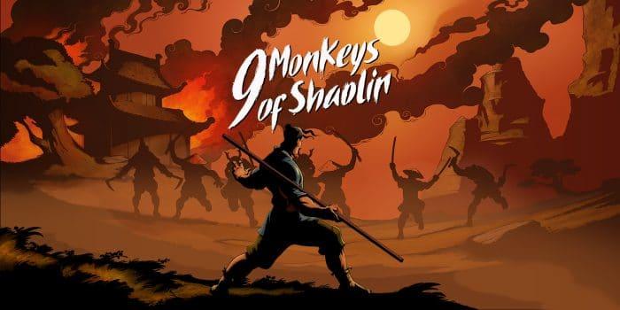 9 Monkeys Of Shaolin Artwork