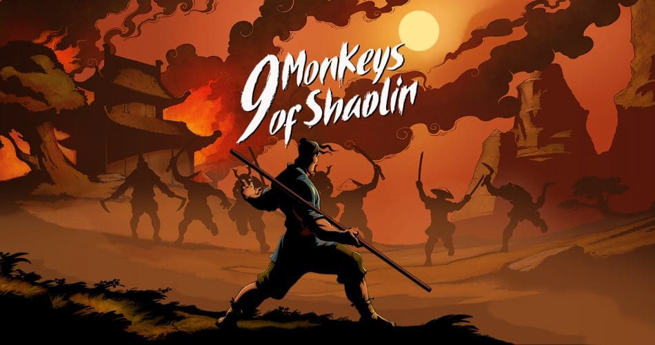 9 Monkeys Of Shaolin Artwork