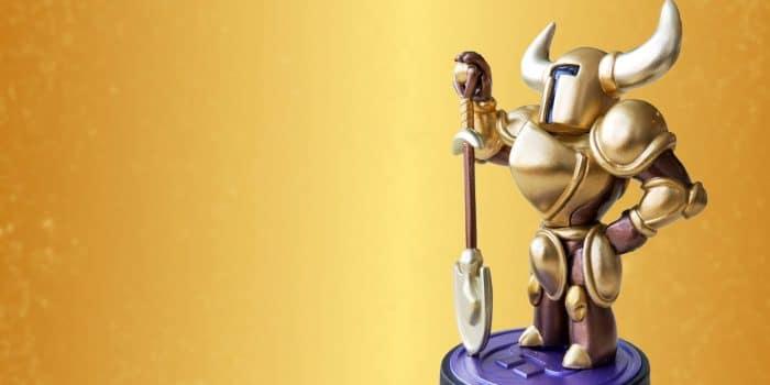 Amiibo Shovel Knight Gold Header