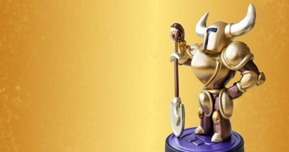 Amiibo Shovel Knight Gold Header