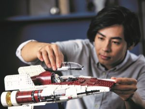 Lego Star Wars A Wing Starfighter Shot 3