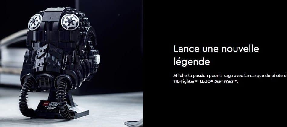 Lego Star Wars Casque Tie Fighter