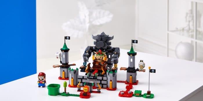 Lego Super Mario Chateau Bowser