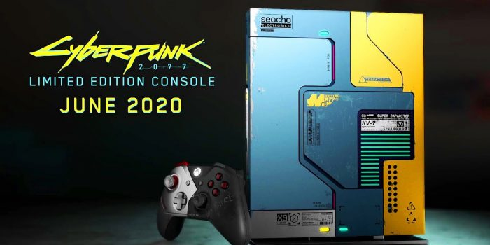 Xbox One X Cyberpunk 2077 Yt