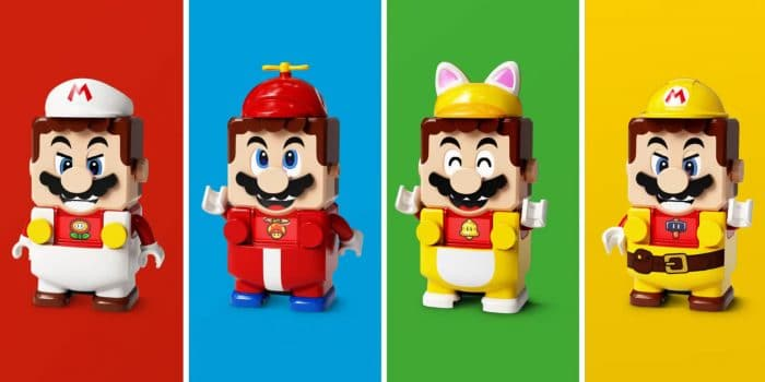 Lego Super Mario Outfits Extension Packs