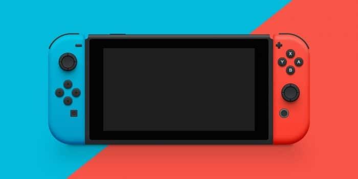 Nintendo Switch Illustration