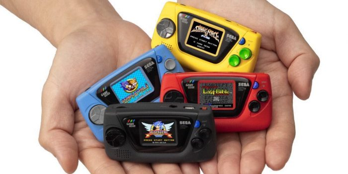 Game Gear Micro 4 Consoles