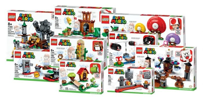 Lego Super Mario Expansion Sets