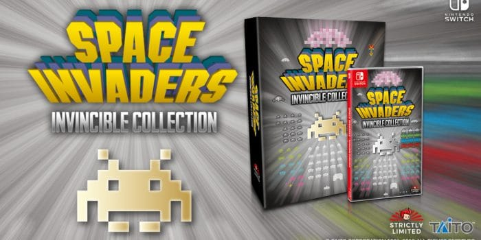 Space Invaders Invincible Collection Slg