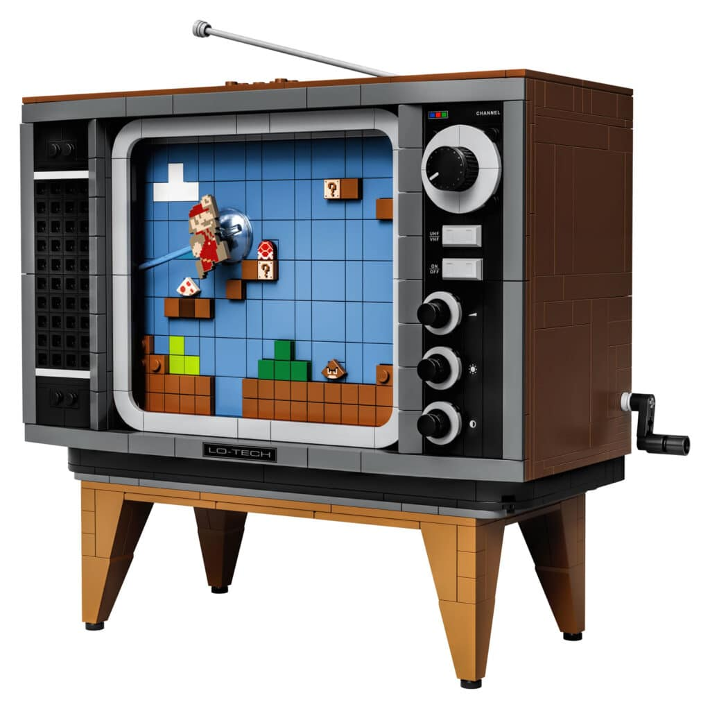71374 Lego Super Mario Nes Nintendo Entertainement System Details 4