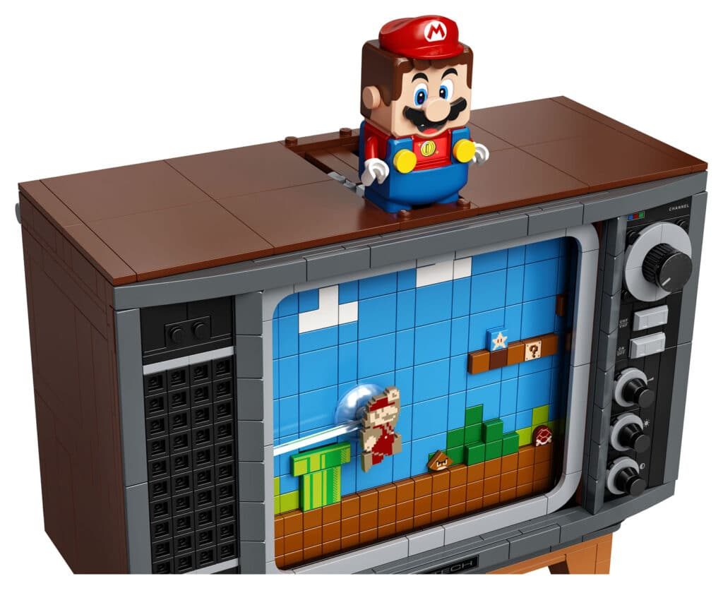 71374 Lego Super Mario Nes Nintendo Entertainement System Details 7