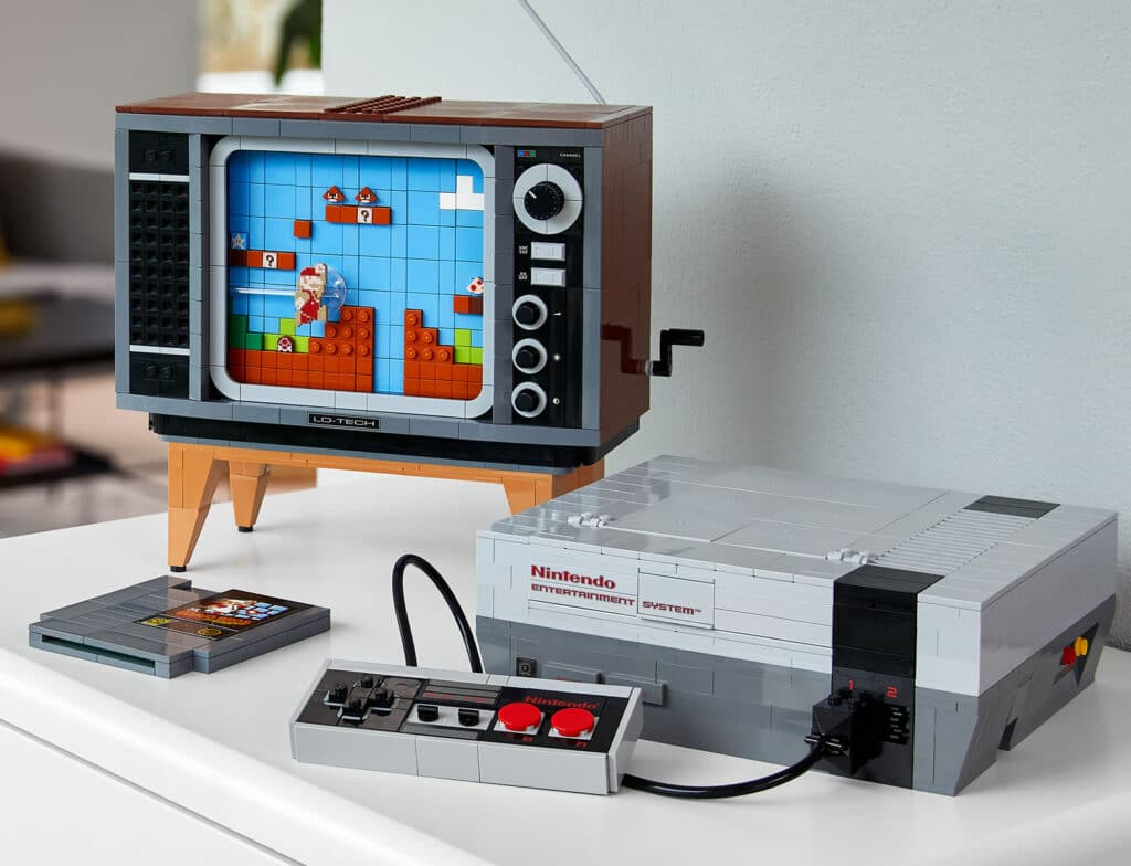 71374 Lego Super Mario Nes Nintendo Entertainement System Nes 2