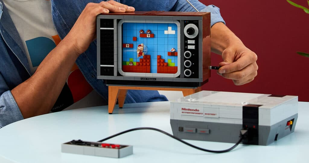 71374 Lego Super Mario Nes Nintendo Entertainement System Nes 8