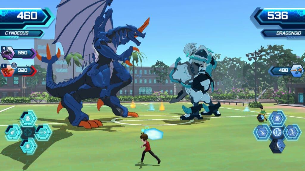 Bakugan Champions Of Vestroia Bakucore Toss Dragonoid Cyndeous Brawl