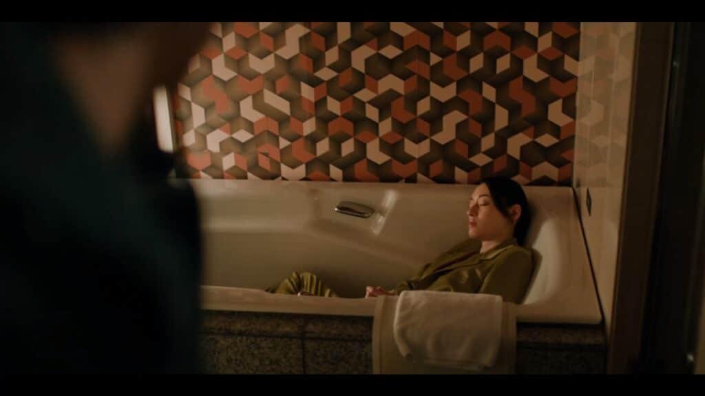 Death Come True Screen Akane Sachimura Bathtub