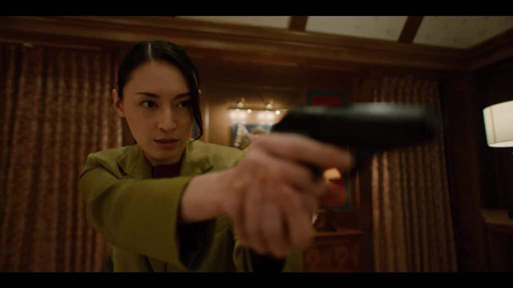 Death Come True Screen Akane Sachimura Gun