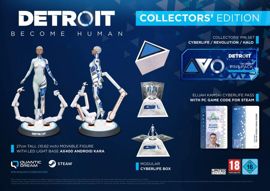 Detroit Become Human Collector Pc