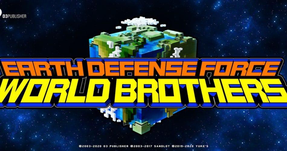 Earth Defense Force World Brothers Keyart